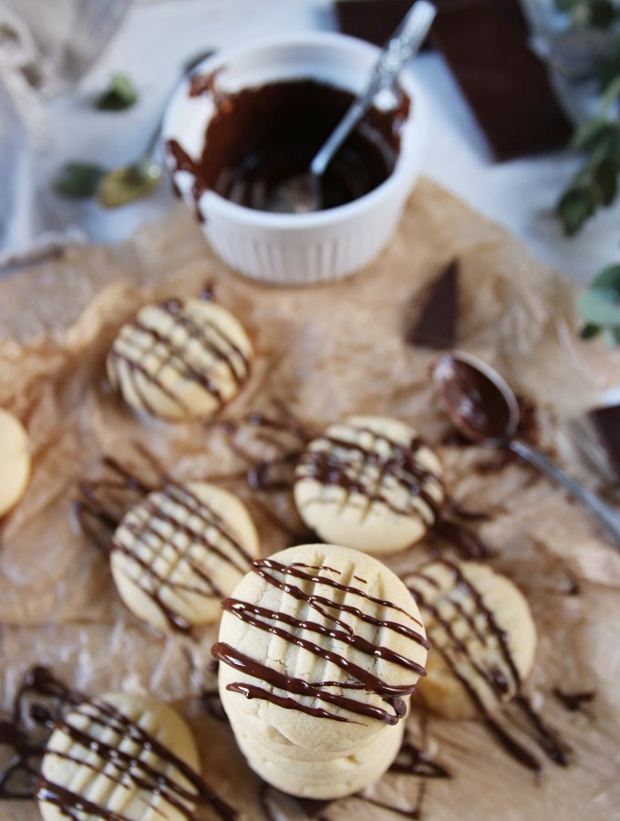vaniljkakor med choklad