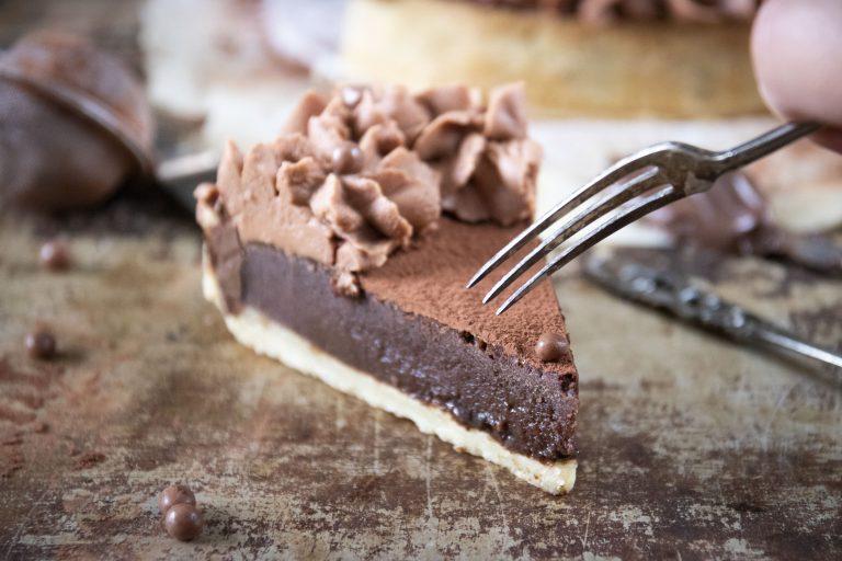 chokladcheesecake paj