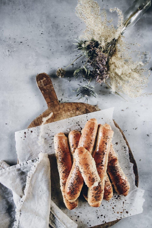 frukostbröd med vallmo