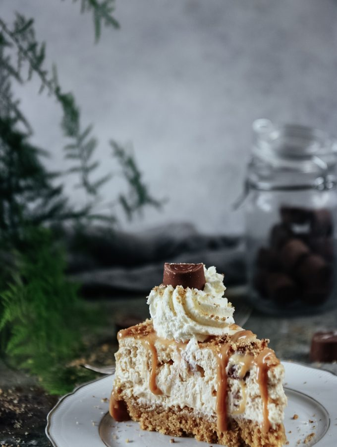 no-bake Center cheesecake