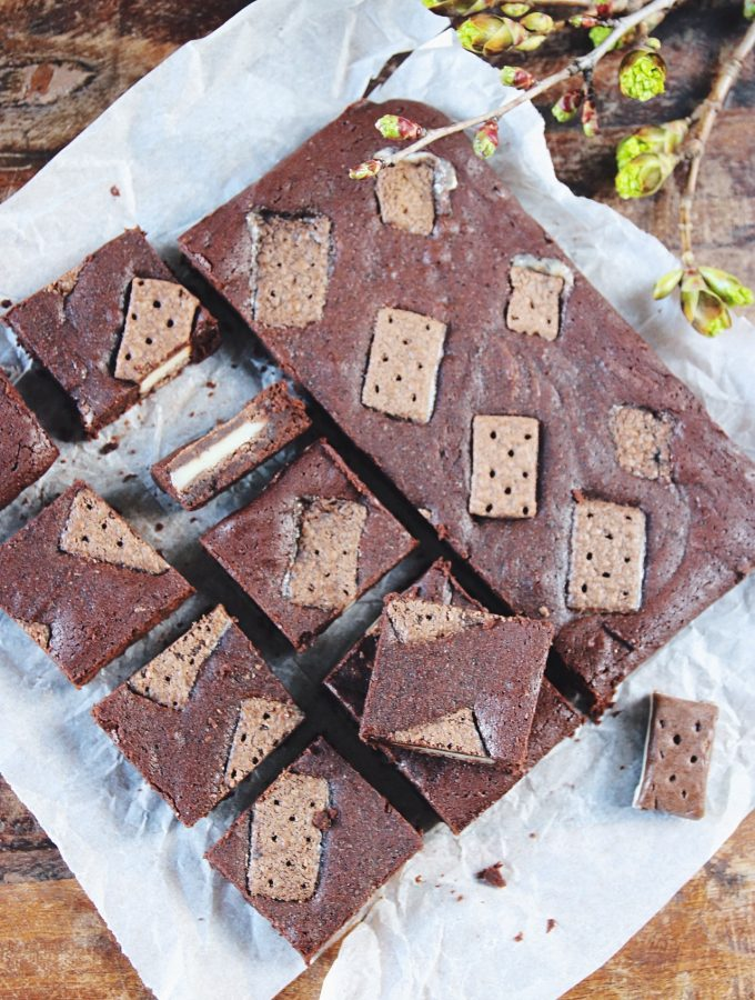 brownies med sandwich bites