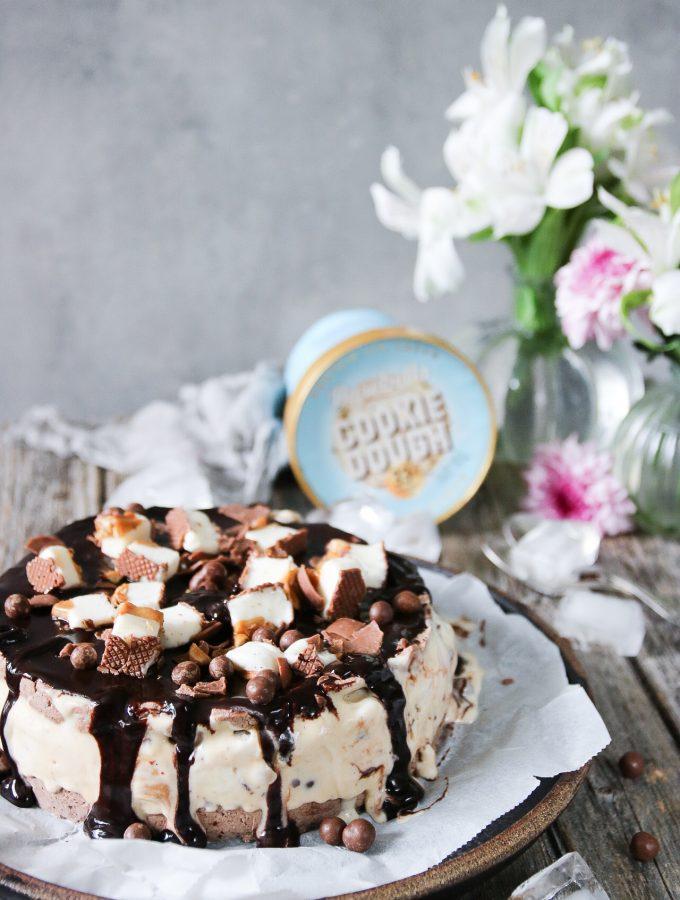nyttigare glasstårta