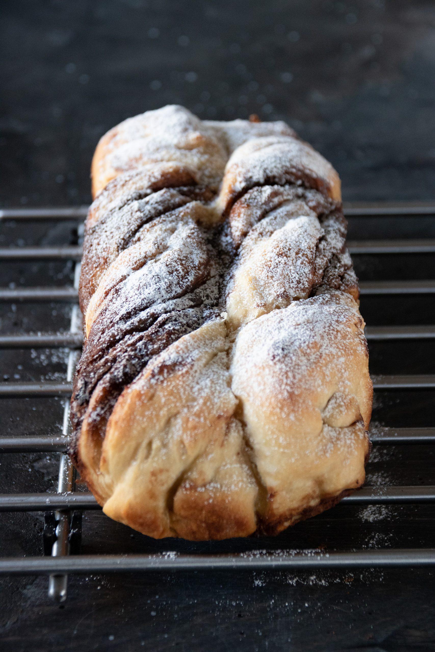 bröd med choklad