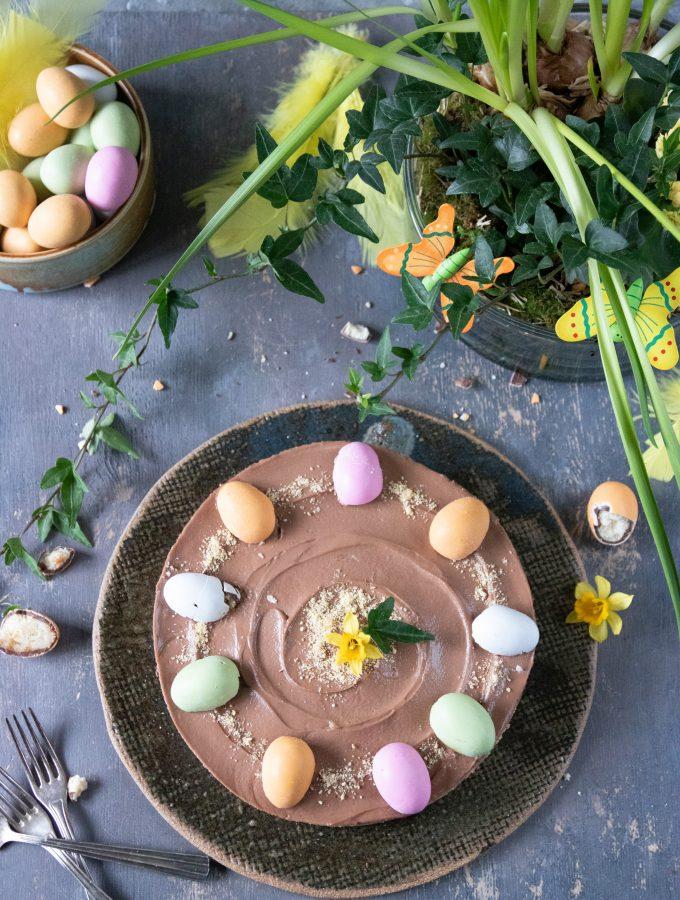 no-bake chokladcheesecake