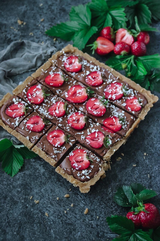 no-bake chokladcheesecake paj