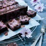 brownies med halloncheesecake fyllning