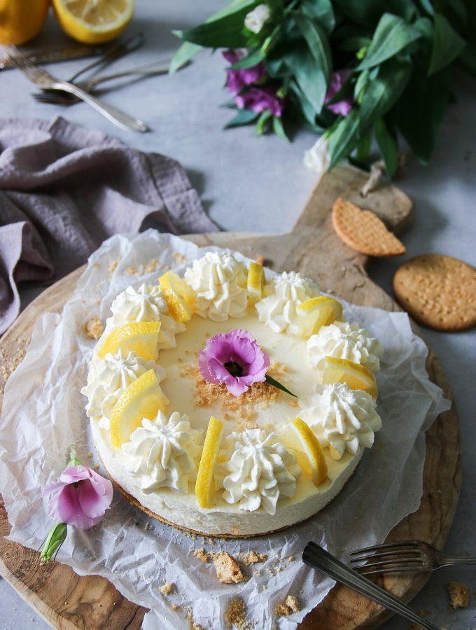 citroncheesecake utan ugn
