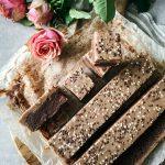 brownies med karamelltryffel