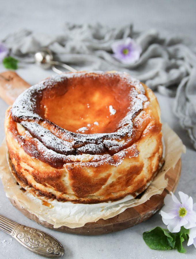 bränt cheesecake