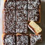 Silviakaka med chokladglasyr