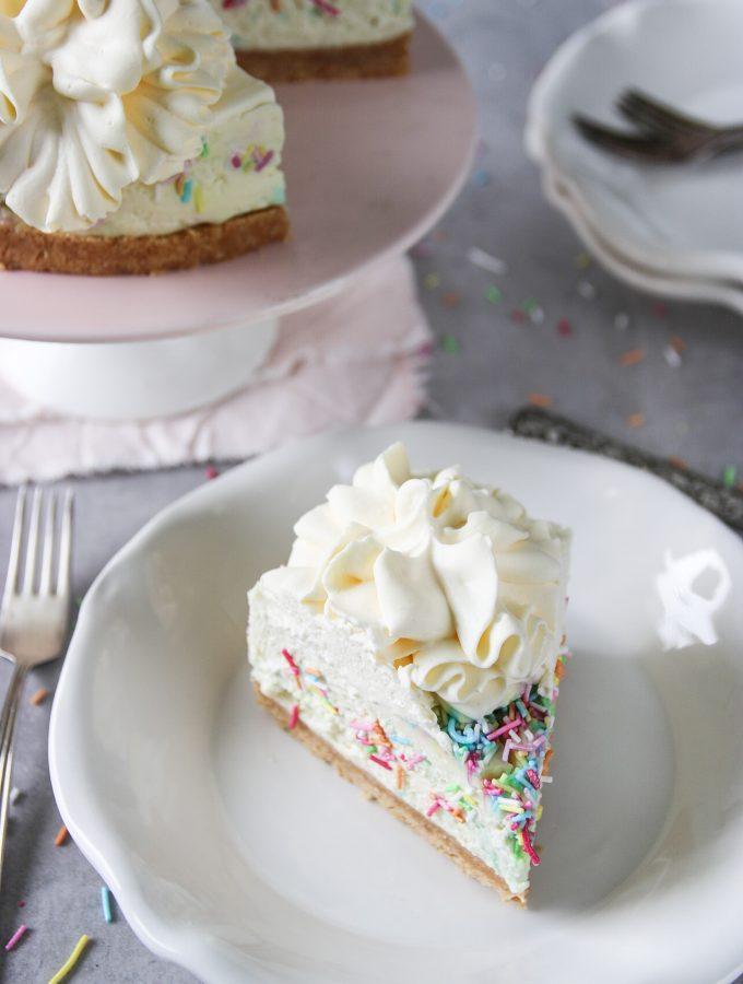 no-bake strösselcheesecake