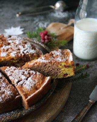 Vem får inte missa receptet på Tomtekaka ~ saffranspepparkaka med lingon? Tryck på länken i min profil för receptet och se till att du följer @simonamuntean_ så missar du inga nya recept. Steg-för-steg i min senaste video på IGTV👆🏻 #saffran #pepparkaka #hembakat #julbak