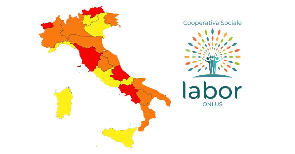 Regione Abruzzo a Zona Rossa