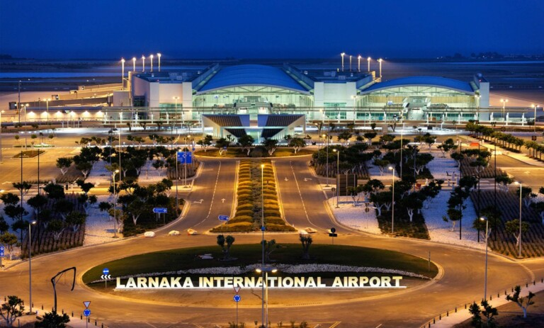 larnaka internationla airport