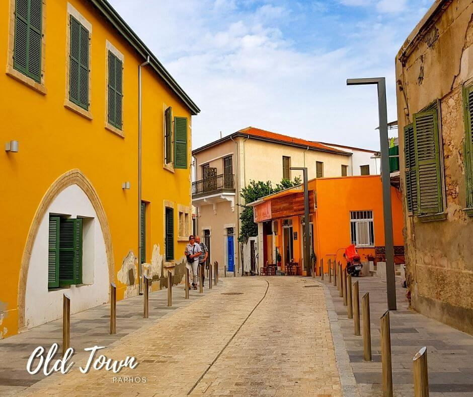 Old town Paphos