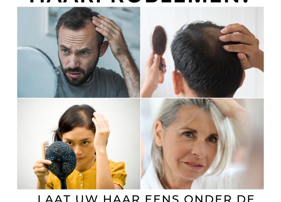 Close-up van je haren