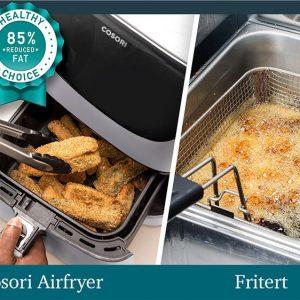 Airfryer cosori hvit fritert