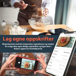 Cosori airfryer smart oppskrifter