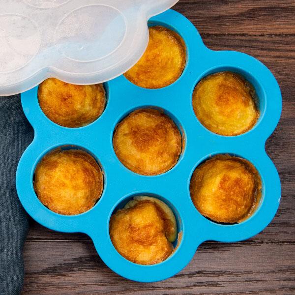 Egg:muffinsformer airfryer tilbehørsett