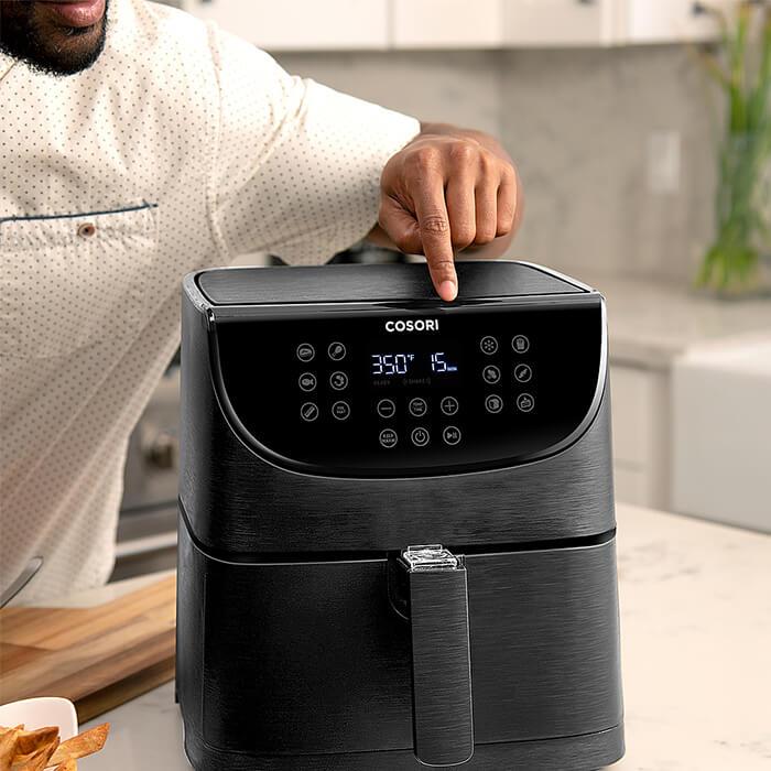 Airfryer cosori svart premium test