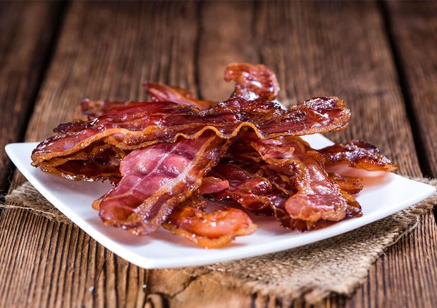 Bacon airfryer oppskrifter