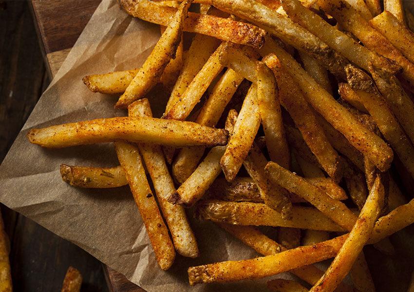 Cajun pommes frites airfryer oppskrifter