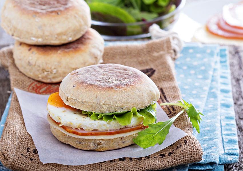 Frokost sandwich airfryer oppskrifter