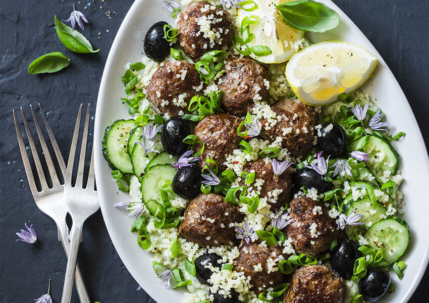 Greske kjøttboller av lam airfryer oppskrifter