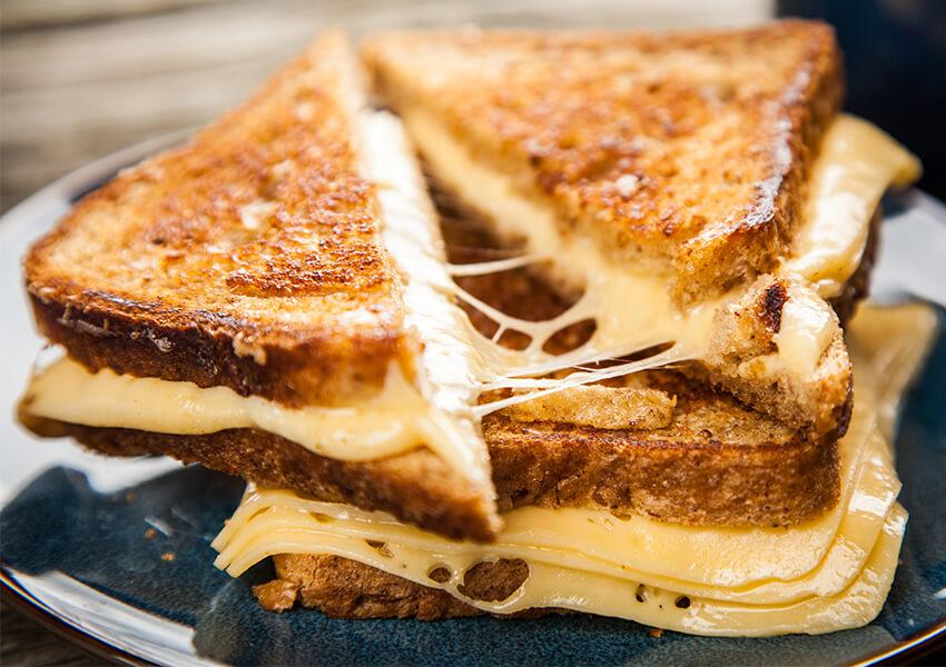 Grillet ostesmørbørd airfryer