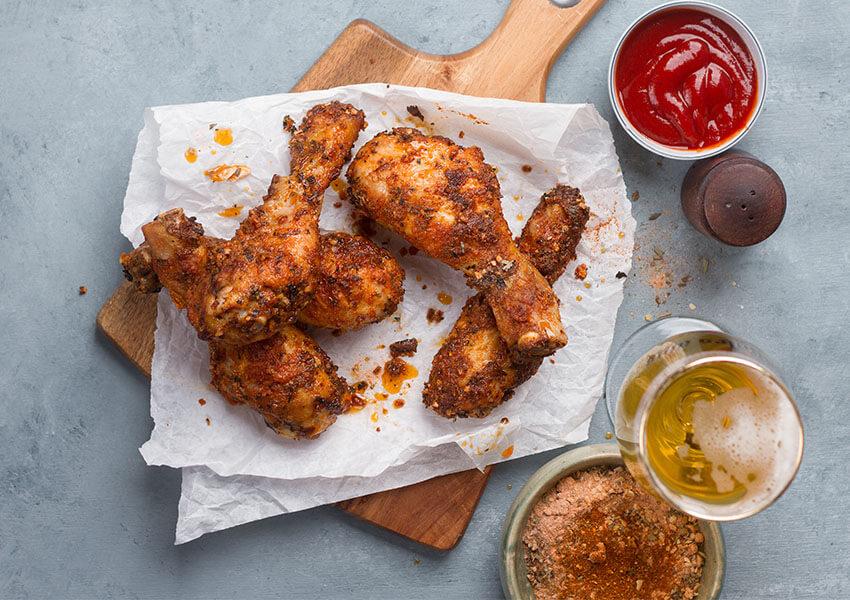 Kyllinglår med hvitløk og sitron 2 airfryer oppskrifter