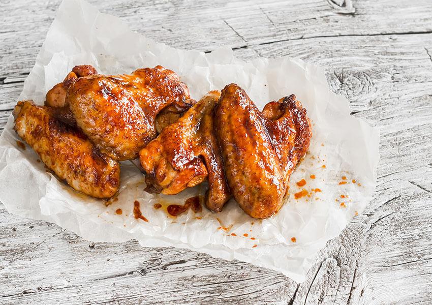 Kyllingvinger honning-sriracha airfryer oppskrifter