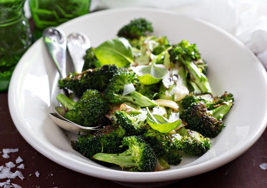 Stekt brokkoli med hvitløk airfryer oppskrifter