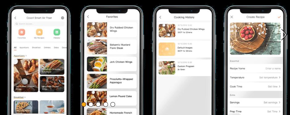 app smart airfryer