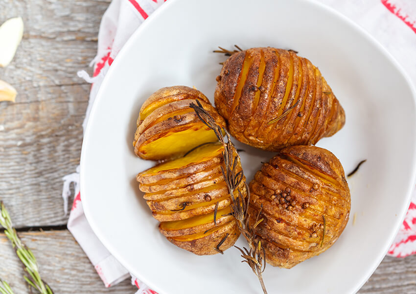 hasselback poteter airfryer