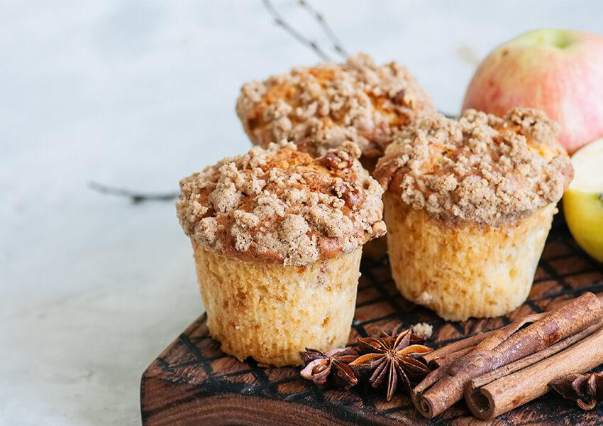 kaffedryss muffins airfryer oppskrifter