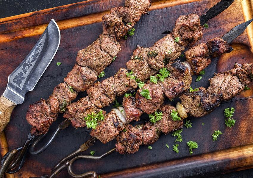 lam shawarma spyd airfryer oppskrifter