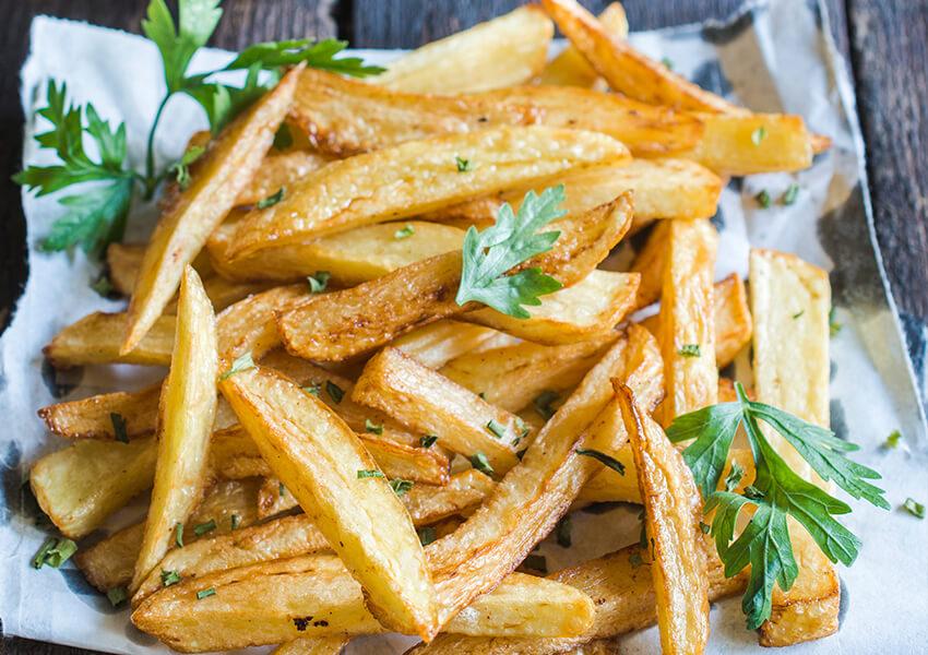 pommes frites airfryer oppskrifter