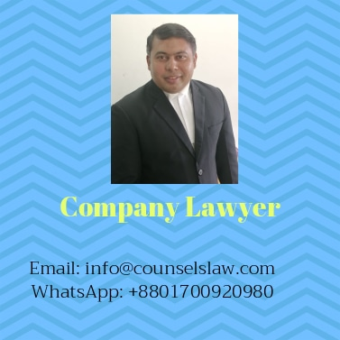 Company Lawyer and contact number