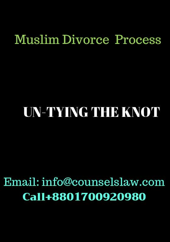 Muslim Divorce Process and Contact Number