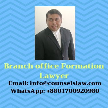 Branch office formation lawyer and contact number