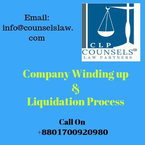 Company Winding up, liquidation, logo & contact