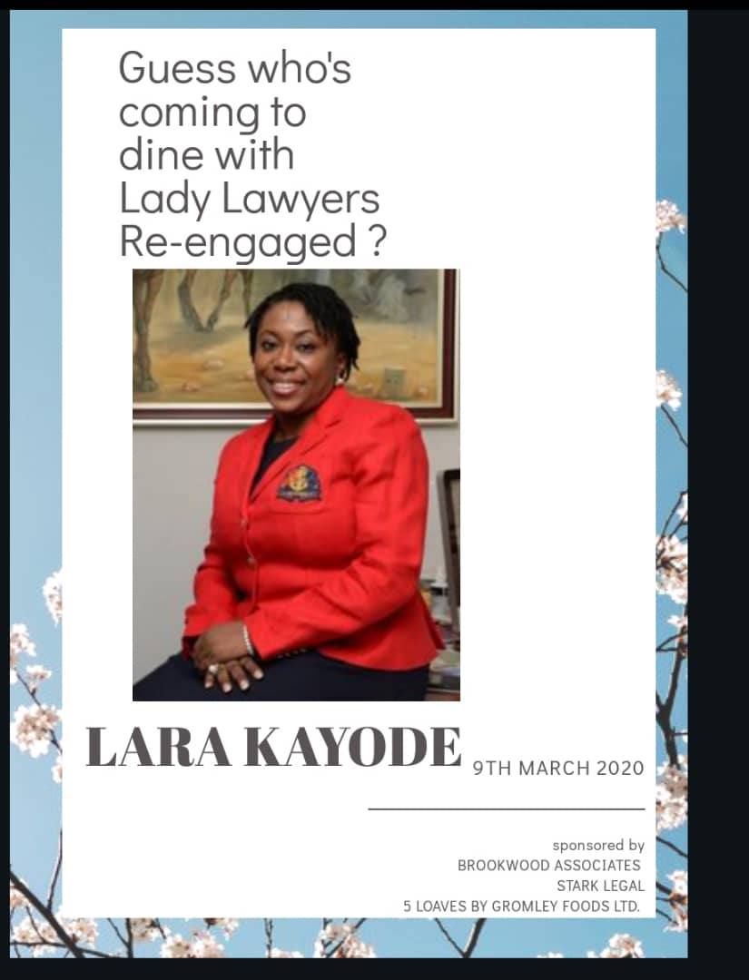 Lady Lawyers Re-engaged hosts round table dinner today to commemorate IWD 2020