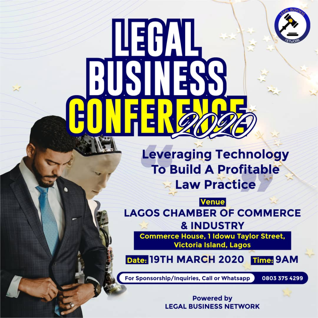 Legal Business Conference to hold on 19th March 2020