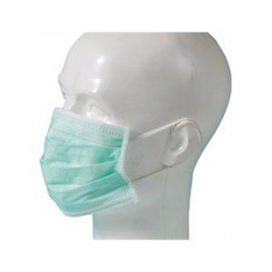 Mondmasker type IIR 3 laags / elastiek – 50 stuks