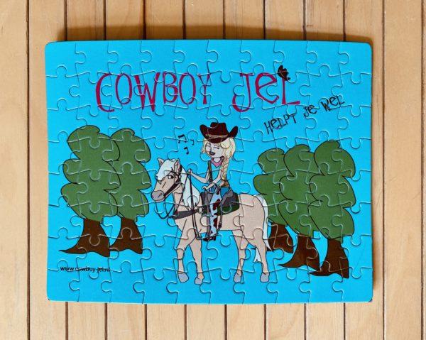 Cowboy-Jel Puzzel
