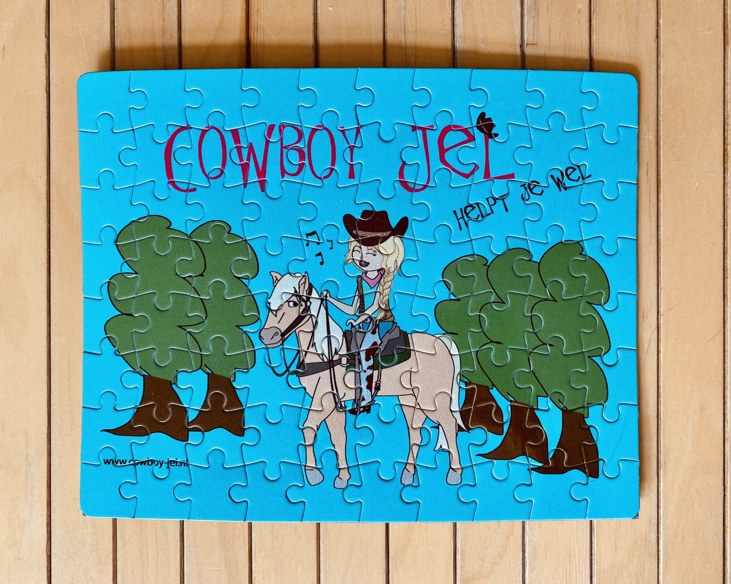 Cowboy Jel puzzel