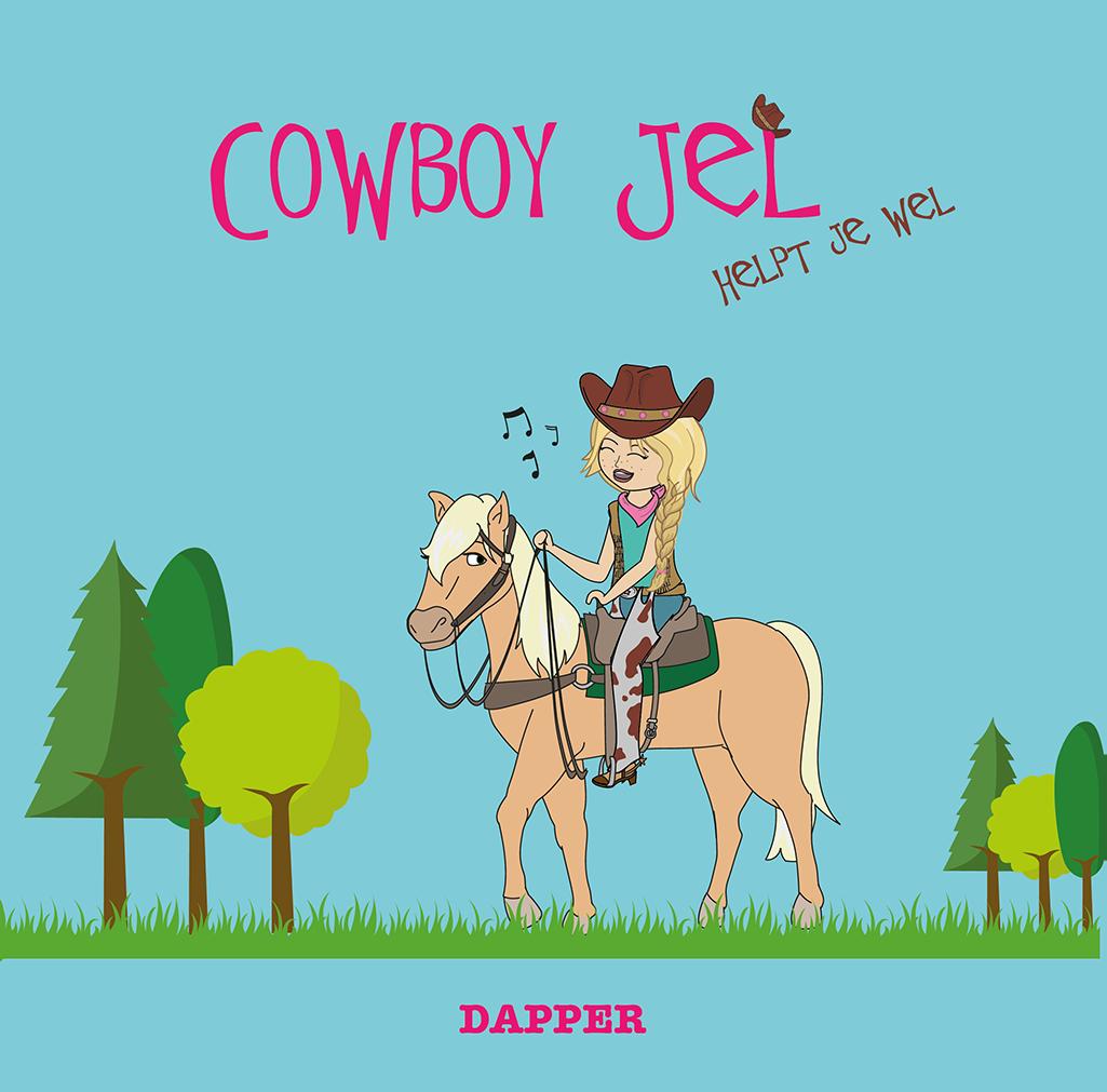 """Het Cowboy Jel boek """"Dapper"""""""