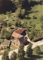 Luchtfoto van Craubekerhof omstreeks 1980