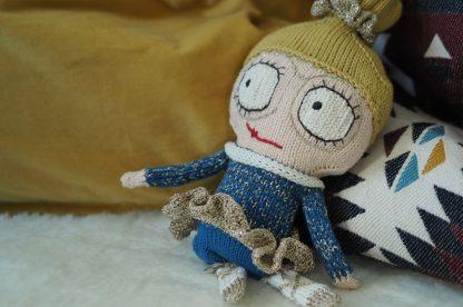 Betty Slow strikket dukke