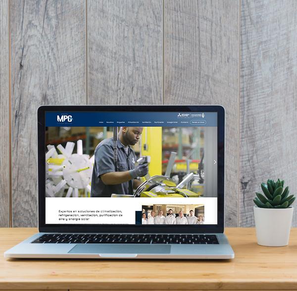 Diseño y desarrollo web para Grupo MPG - Ecommerce en Santo Domingo